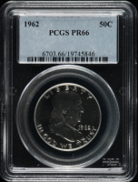 1962 Franklin Half Dollar (PCGS PR66) at PristineAuction.com