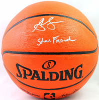 """Steve Francis Signed NBA Game Ball Series Basketball Inscribed """"Stevie Franchise"""" (Beckett COA) at PristineAuction.com"""