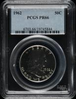 1962 Franklin Half Dollar (PCGS PR66) at PristineAuction.com