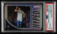 Luka Doncic 2019-20 Panini Prizm Get Hyped! Prizms Silver #6 (PSA 10) at PristineAuction.com