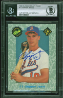 Chipper Jones Signed 1990 Classic Draft Picks #1 (BGS Encapsulated) at PristineAuction.com