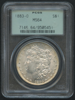 1883-O Morgan Silver Dollar (PCGS MS64) (OGH) (Toned) at PristineAuction.com