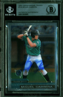 Miguel Cabrera Signed 2000 Topps Chrome Traded #T40 RC (BGS Encapsulated) at PristineAuction.com
