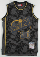 Gary Payton Signed SuperSonics Jersey (PSA COA) at PristineAuction.com