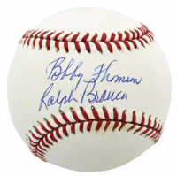 Ralph Branca & Bobby Thomson Signed ONL Baseball (Beckett COA) (See Description) at PristineAuction.com