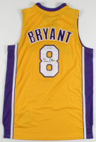 Gary Payton Signed Lakers Kobe Bryant Jersey (PSA COA) at PristineAuction.com