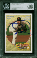 Tim Lincecum Signed 2008 Upper Deck Heroes #149 (BGS Encapsulated) at PristineAuction.com