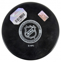 Ryan Getzlaf Signed Ducks Logo Hockey Puck (Fanatics Hologram) at PristineAuction.com