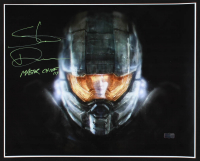 """Steve Downes Signed """"Halo"""" 16x20 Photo Inscribed """"Master Chief 117"""" (Radtke COA) at PristineAuction.com"""