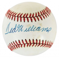 Ted Williams Signed OAL Baseball (Beckett LOA) (See Description) at PristineAuction.com