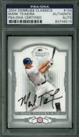 Mark Teixeira Signed 2004 Donruss Classics #104 (PSA Encapsulated) at PristineAuction.com