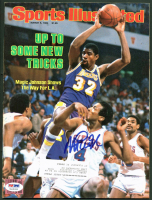 Magic Johnson Signed 1984 Sports Illustrated Magazine (PSA COA) at PristineAuction.com