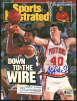 Magic Johnson Signed 1988 Sports Illustrated Magazine (Beckett COA) at PristineAuction.com