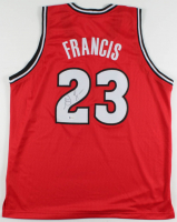 Steve Francis Signed Jersey (Beckett COA) at PristineAuction.com