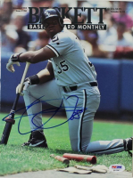 Frank Thomas Signed 1994 Beckett Baseball Card Monthly Magazine (PSA COA) at PristineAuction.com