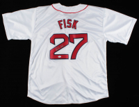 Carlton Fisk Signed Jersey (JSA COA) at PristineAuction.com
