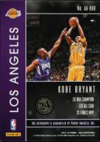 Kobe Bryant 2015-16 Panini Gala Action Autographs #1 at PristineAuction.com