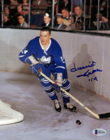 David Keon Signed Maple Leafs 8x10 Photo (Beckett COA) at PristineAuction.com