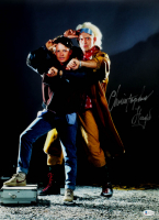 """Christopher Lloyd Signed """"Back to the Future"""" 16x20 Photo (Beckett COA) at PristineAuction.com"""