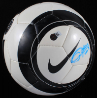 "Christie Rampone Signed Nike Soccer Ball Inscribed ""USA"" (Steiner COA & SportsMemorabilia COA) at PristineAuction.com"