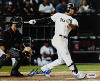Yoan Moncada Signed White Sox 8x10 Photo (PSA COA) at PristineAuction.com