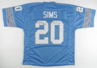 """Billy Sims Signed Jersey Inscribed """"80 R.O.Y"""" (JSA COA) at PristineAuction.com"""