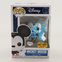 "Bret Iwan Signed Disney Diamond Collection #01 Mickey Mouse Funko Pop! Vinyl Figure Inscribed ""Mickey"" (JSA COA) at PristineAuction.com"