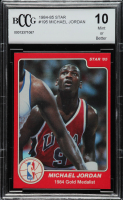 Michael Jordan 1984-85 Star #195 Olympics (BCCG 10) at PristineAuction.com
