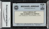 Michael Jordan 1984-85 Star #195 Olympics (BCCG 10) at PristineAuction.com