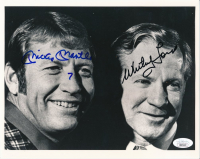 """Whitey Ford & Mickey Mantle Signed Yankees 8x10 Photo Inscribed """"7"""" (JSA ALOA) at PristineAuction.com"""