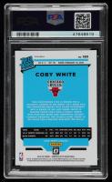 Coby White 2019-20 Donruss Optic Holo #180 RR (PSA 10) at PristineAuction.com
