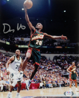 Gary Payton Signed SuperSonics 8x10 Photo (PSA COA) at PristineAuction.com