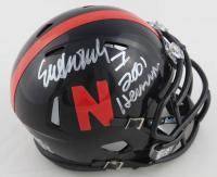 "Eric Crouch Signed Nebraska Cornhuskers Speed Mini-Helmet Inscribed ""2001 Heisman"" (Schwartz COA) at PristineAuction.com"