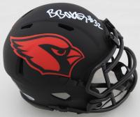 Budda Baker Signed Cardinals Eclipse Alternate Speed Mini Helmet (Beckett COA) at PristineAuction.com