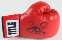 """Manny Pacquiao Signed Title Boxing Glove Inscribed """"Pacman"""" (Beckett Hologram) at PristineAuction.com"""