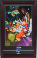 """Space Jam"" 16x25 Custom Framed Photo Display with Pre-Movie Release Pin at PristineAuction.com"