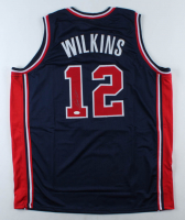 Dominique Wilkins Signed Jersey (JSA COA) (See Description) at PristineAuction.com
