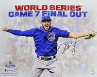 Kris Bryant Signed Cubs 16x20 Photo (MLB Hologram & Fanatics Hologram) at PristineAuction.com