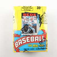 1986 Topps Baseball Wax Box with (36) Packs (BBCE Certified) at PristineAuction.com
