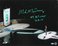 "Mike Modano Signed Stars 16x20 Photo Inscribed ""Retired 3-8-14"" (Beckett COA) at PristineAuction.com"
