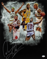 Dennis Rodman Signed 16x20 Photo (JSA Hologram) (See Description) at PristineAuction.com