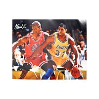 Magic Johnson Signed Lakers 16x20 Photo (CX Hologram) at PristineAuction.com