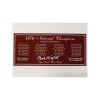 Bob Knight Signed Indiana Hoosiers 10x14 Photo (JSA Hologram) at PristineAuction.com