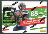 2020 Panini Donruss Football Holiday Blaster Box with (11) Packs at PristineAuction.com