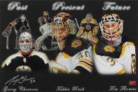 Gerry Cheevers Signed Bruins 12x18 Photo (YSMS COA) at PristineAuction.com