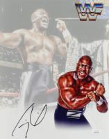 "Thomas ""Tiny"" Lister Jr. Signed WWE 11x14 Photo (JSA COA) at PristineAuction.com"