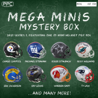 Press Pass Collectibles 2021 Mega Mini Helmet Mystery Box – Series 1 (Limited to 50) at PristineAuction.com