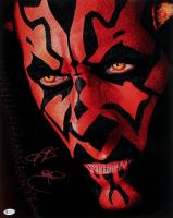 "Ray Park Signed ""Star Wars: Episode I - The Phantom Menace"" 16x20 Photo with Inscription (Beckett COA) at PristineAuction.com"