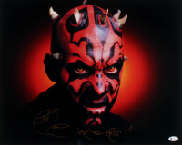 """Ray Park Signed """"Star Wars: Episode I - The Phantom Menace"""" 16x20 Photo Inscribed """"Fear The Face"""" (Beckett COA) at PristineAuction.com"""