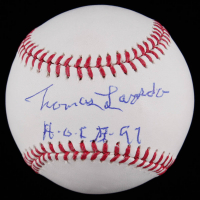 "Tommy Lasorda Signed OML Baseball Inscribed ""H.O.F. 97"" (PSA COA) at PristineAuction.com"